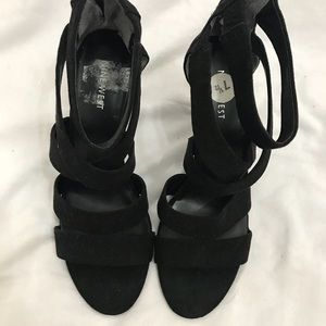 Nine West sandals. Slightly used